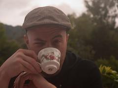 Skeptical Adam is Skeptical (monsterpartyhat) Tags: newzealand adam marlborough koromiko