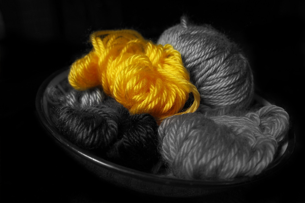 Color 12/31:  Yarny Sunshine