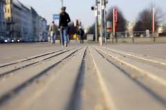 Tactile Paving (CoolMcFlash) Tags: vienna wien street city urban lines canon person photography eos austria österreich focus fotografie leute dof pov pavement perspective ground stadt tamron perspektive gettyimages personen boden linien dephtoffield tiefenschärfe gehsteig strase 18270 tactilepaving 60d b008 blindenleitsystem