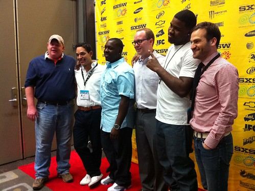 The cast and crew of Undefeated at SXSW