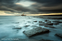 End of Days (Azzmataz) Tags: sunset cloud lighthouse st marys anthonyhallphotography