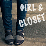 girl and closet button