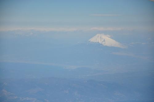 Japan Eartquake: cloud/smoke on Mt. Fuji