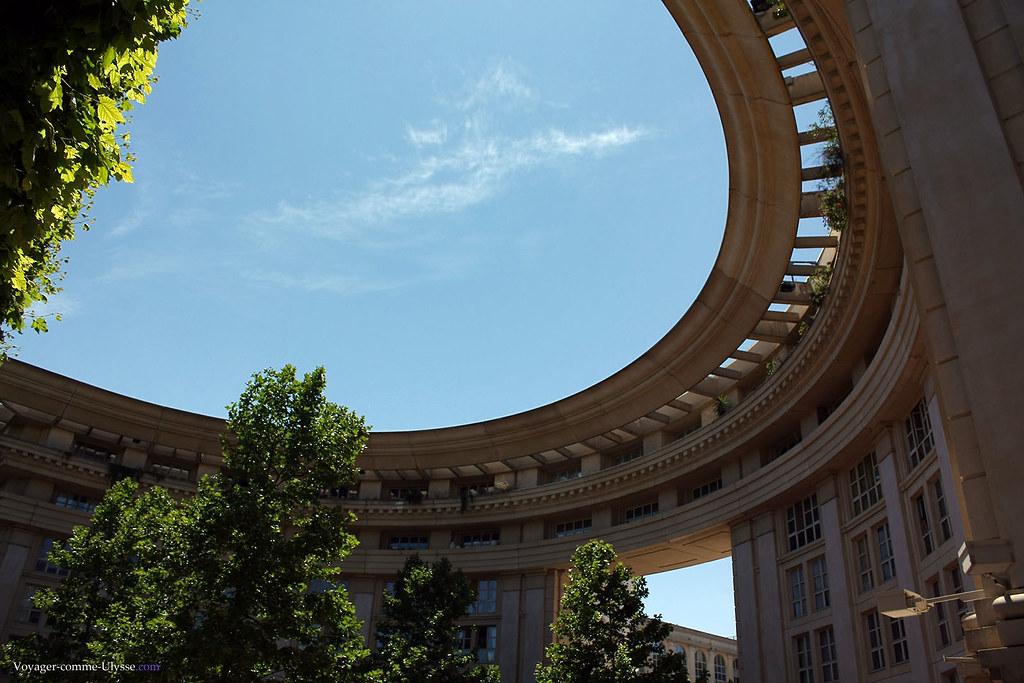 Une architecture grandiose, et habitée