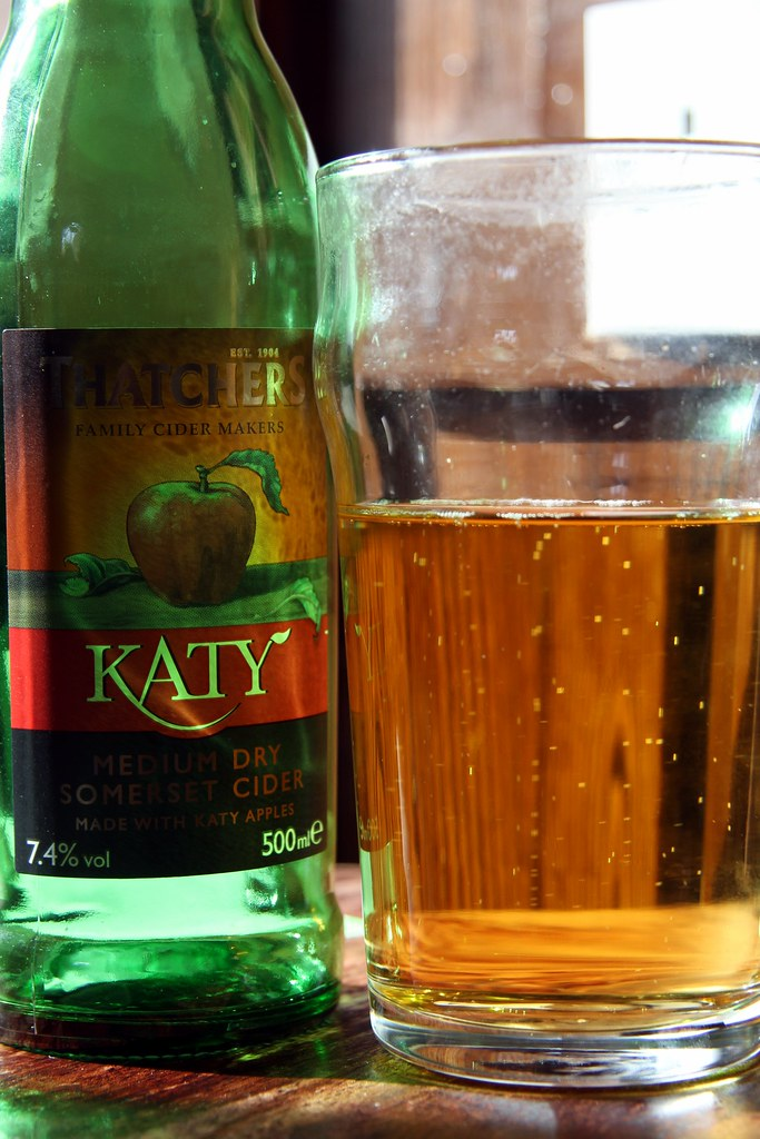 Thatchers Katy cider