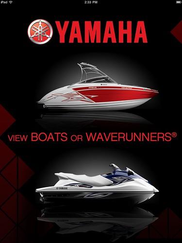 app waverunner searay seadoo iphone ipad yamahaboat yamahawatercraft