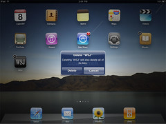 Como remover aplicativos do iPad