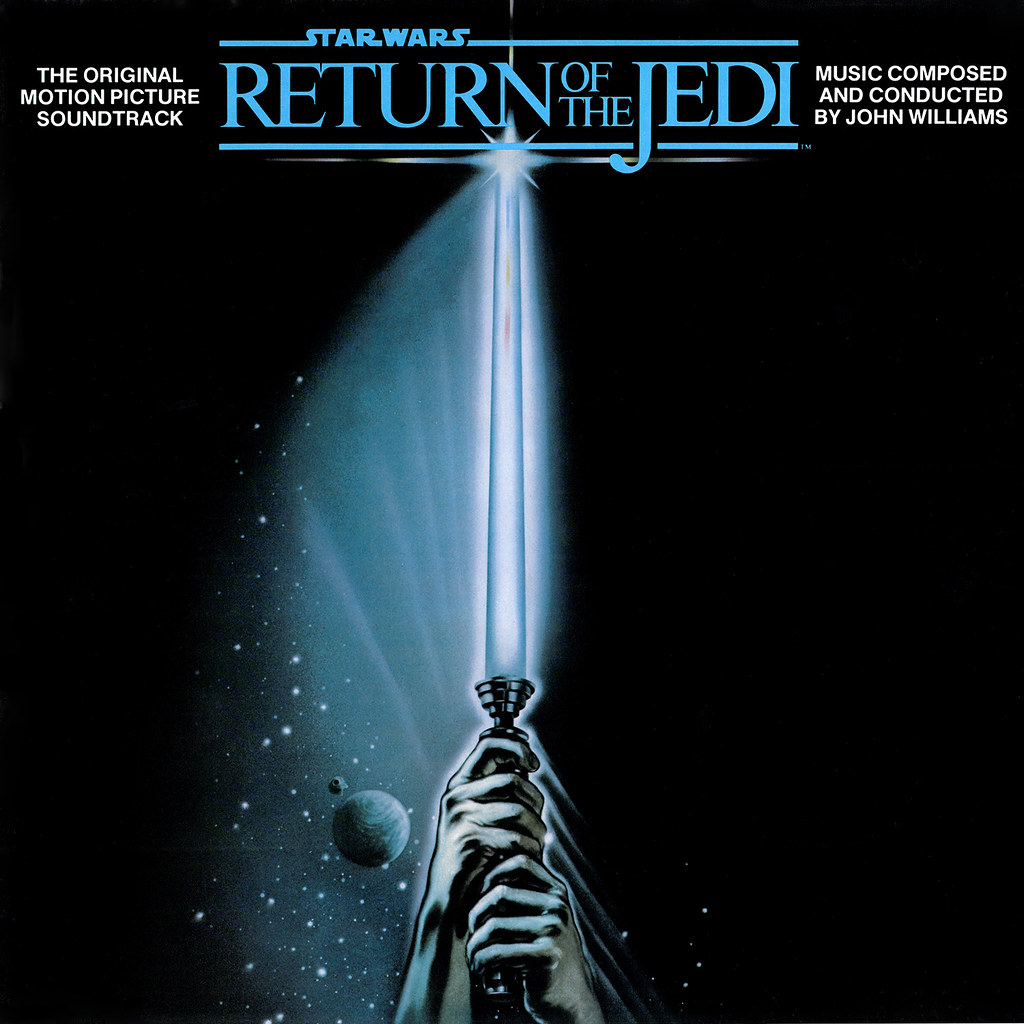 Star Wars Return Of The Jedi Lp Cover Art