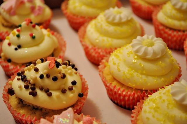 Oreo and citrus cupcakes