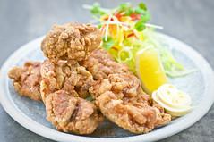 Tori no karaage - fried chicken
