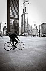 Biker by Trump (RichardDemingPhotography) Tags: longexposure windows people urban chicago streets brick cars glass stairs canon reflections rust downtown availablelight brokenglass trumptower lakeview canoneos lincolnpark doorways thel fastcars chicagoillinois roscos abandonedfactories cityofchicago canonlglass urbanexplorations tacksharp attentiontodetail northhalstead canoncameras apocalypsedecadence canon1dmarkiv canonworldwide garynutbolt canon1635mmf28seriesiillens canonproshooters urbexexplorers sidewalksinchicago lostforgotten amazingurbex