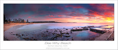 Dee Why Beach (shannon sakovits.) Tags: ocean longexposure color colour beach pool clouds sunrise canon rocks shannon baths 1740mm deewhy northernbeaches deewhybeach 5dmarkii shannonsakovits shannonphotographycomau