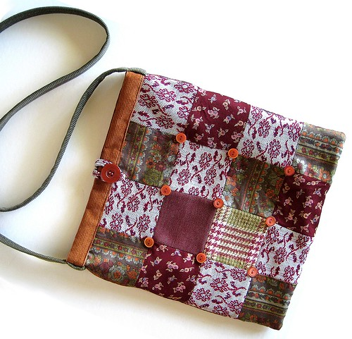 Patchwork Purse by b-a-boop