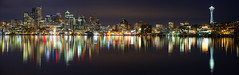 Glassworks (~ Aaron Reed ~) Tags: seattle city reflection reed glass night dark photography cityscape pano aaron photographyclass smooth photographers clear stockphotos gasworks pacificnorthwest spaceneedle emeraldcity stockimages digitalphotography naturephotography reallyrightstuff professionalphotography blackwhitephotography photographyschool fineartphotographs skyphotographs lakephotographs outdoorphotographer aaronreed leefilters naturephotographs abstractphotographs landscapephotographs photographytraining framedartprints sunsetphotograp