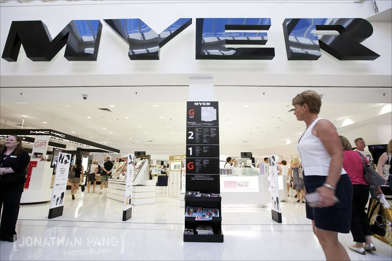 Myer Garden City Re-Launch with Kris Smith » Perth Wedding & Fashion ...
