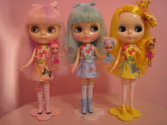 Color Coordinated with Dollies!!