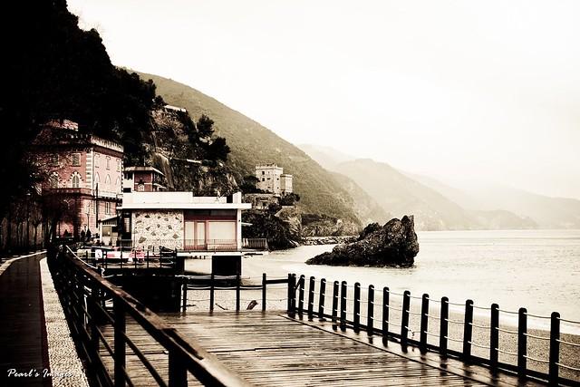 Monterosso海邊