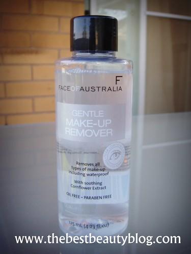 FOA make-up remover, FOA