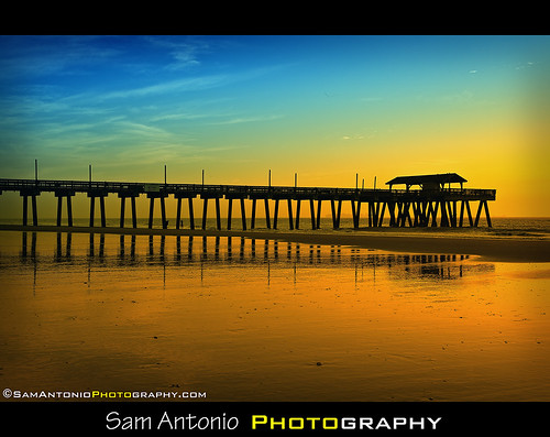 Farewell Atlantic Ocean - Tybee Island Pier, Georgia by Sam Antonio Photography