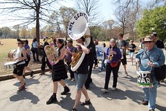March 19, 2011 (ok2go) Tags: atlanta georgia march war day peace action rally protest band midtown international antiwar orchestra marching end radical aso 10th 19 dayofaction sedition 2011 internationaldayofaction atlantansunite seditionorchestra