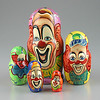 Set of Famous Clowns Nesting Doll (The Russian Store) Tags: trs matrioshka matryoshka russiannestingdolls кукла stackingdoll русская russianstore матрешка russiangifts русскиймагазин russiancollectibledolls shoprussian русскиеигрушки русскиеподарки русскиесувениры