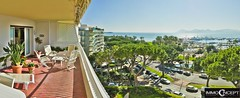 Apartment in Cannes Croisette (Jean Huillet) Tags: france nikon realestate apartment cannes terrace south côtedazur fr hdr seaview sud croisette frenchriviera 8400 immobilier