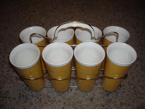 Retro Weave Cups