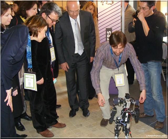 Les robots tactiles