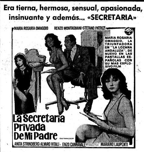 La secretaria privada de mi padre