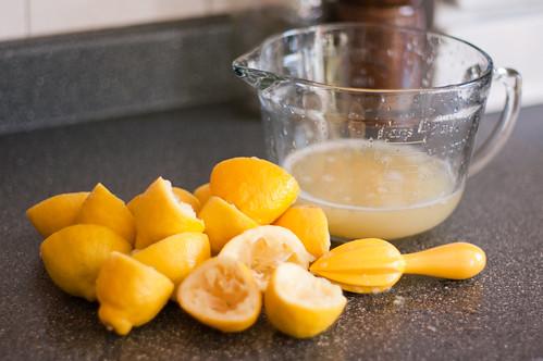 Lemons for Strawberry lemonade