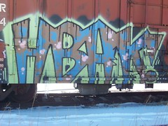 HBAK! (Reckless Artist) Tags: minnesota train graffiti paint cities twin spray tc graff mn freight hbak colddayfun