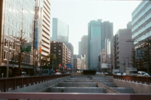Shiodome buildings  [Pinhole] by keganimushi
