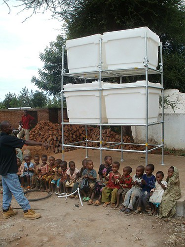 African Water Filtration System - Kee Klamp Structure