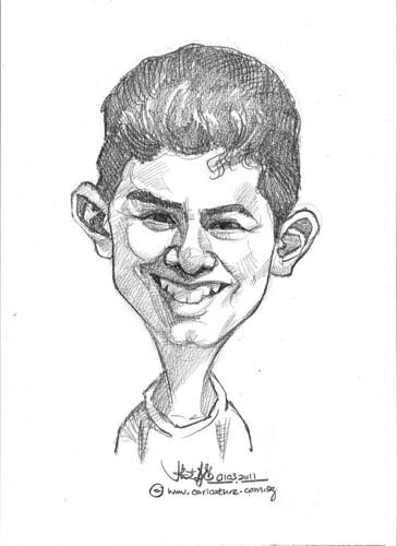 caricature in pencil - 3