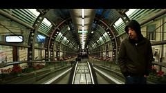 the passenger (Pier Paolo Papalia Photography) Tags: italy scale mobile marina italia tunnel via movies passenger lungomare calabria reggio passeggero