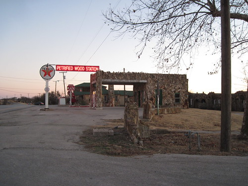 Petrified Wood Station, Decatur, Texas by fables98
