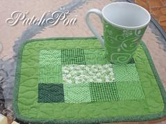 Mug Rug (..::PatchPoa::..) Tags: caf quilt mug rug patch patchwork poa caneca cofee ch patchpoa