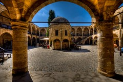 The Buyuk Han(Lefkosa),North Cyprus (Nejdet Duzen) Tags: trip travel architecture caravanserai nicosia northcyprus kbrs seyahat osmanl ottaman kervansaray kktc lefkoa kuzeykbrstrkcumhuriyeti bykhan greatinn saariysqualitypictures mygearandme