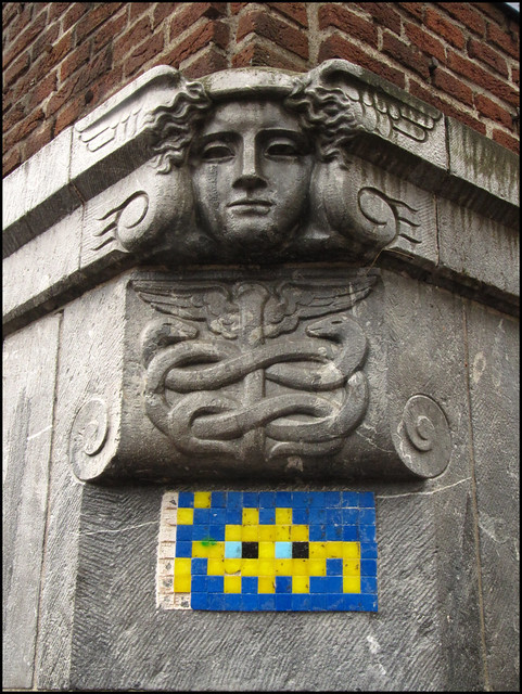Amsterdam space invader