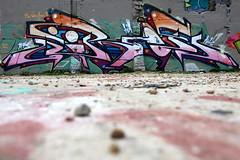 Jiroe (datachump) Tags: uk black rock graffiti brighton artillery ha heavy jiroe