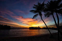 Sunset at Sentosa III