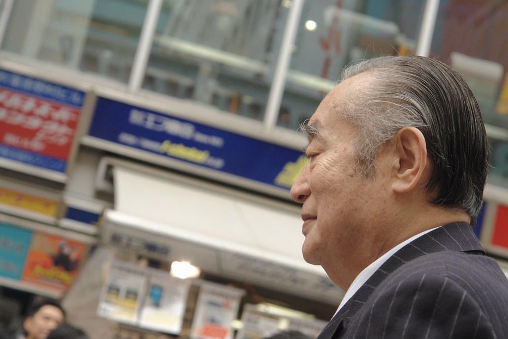 Dr.Nakamatsu in Akihabara