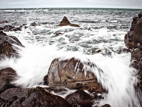 [フリー画像] 自然・風景, 海, 海岸, 波, イギリス, 201106011900