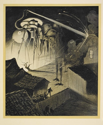 The Martians from H G Wells's The War of the Worlds