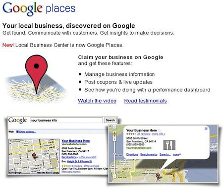 Google Places: Google Maps para promocionar tu Negocio
