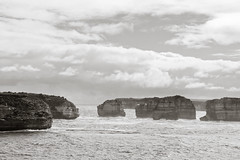 Day84 : Great Ocean Road (BeAsT#1) Tags: ocean road bw white holiday black canon kiss great working australia victoria vic  visa  x3 500d 2011 whv