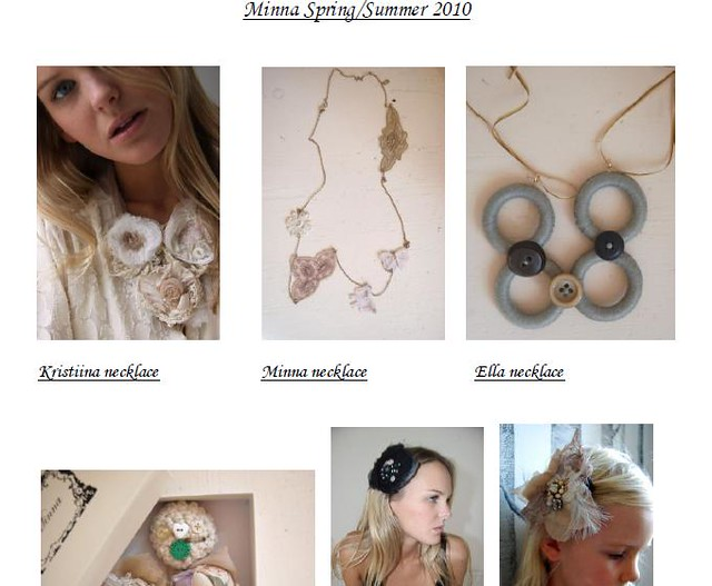 minna spring summer collection jewelries