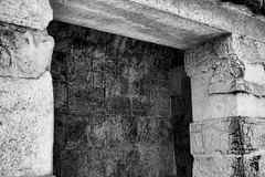 IMG_2357 BW (jphphotography) Tags: travel tourism mexico ruins escape maya vibrant dramatic adventure chichenitza mayan tropical historical cancun templeofthejaguar t2i