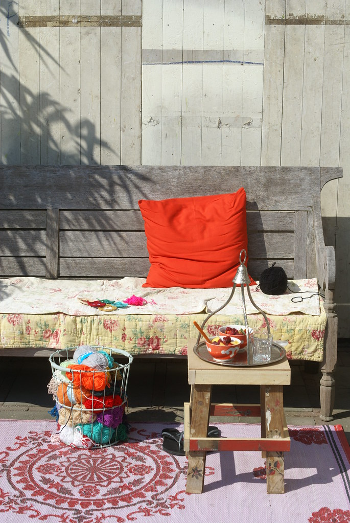 summer mood garden by wood & wool stool