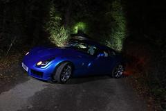 IMG_5038 (Yorkshire Pics) Tags: 0410 04102016 october tvr sagaris blue tvrsagaris bluetvr bluetvrsagaris bluecar night nightphotography nighttime nightscene supercars leeds swillington carsatnight transport supercarsatnight tvratnight